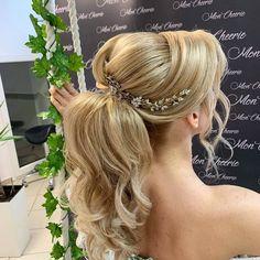 Hairpin Ivy 👰😍 #veloefilo Hairpin, Wedding Hair Accessories, Ivy, Wedding Hairstyles, Fashion, Moda, Fashion Styles, Wedding Hair, Wedding Hair Down