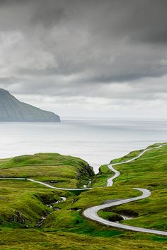 """""""For I am about to do something new. See, I have already begun! Do you not see it? I will make a pathway through the wilderness. I will create rivers in the dry wasteland."""" ~ Isa 43.19 (Faroe Islands)"""
