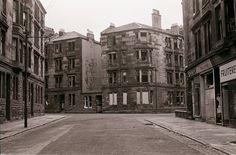 Joseph McIvor, B.E.M. GLASGOW (Dennistoun-Culloden Street) circa 1974...Looking up Coventry Drive towards Culloden Street