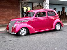 Very Pink Hot Rod!
