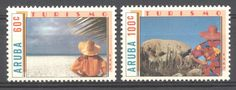 Stamps with Cactus, Tourism from Aruba, product #176813
