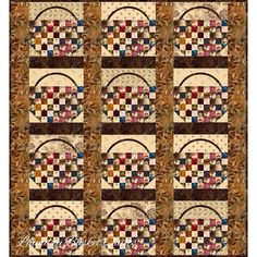Laundry Basket Quilt of the Day - Shaker Basket