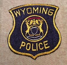 Wyoming Michigan Police Patch