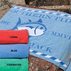 Southern Tide Beach Towel - www.kevinscatalog.com
