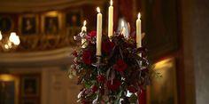 Goodwood House - Ballroom.  Flowers by Spriggs Florist