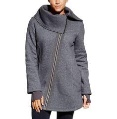 Women's Wide Collar Fleece Coat