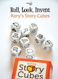 Rory's Story Cubes -- great for travel and waiting rooms