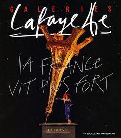 Galeries Lafayette by Goude | Pub en stock