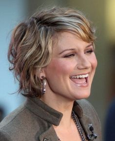 short hair layered curly hairstyles