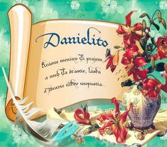 Danielito - prianie k meninám