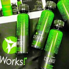 How does the CLEANSE work? Very simple - Drink1 in the morning & 1 at night, for 2 days. Once a month is suggested - no more than once a week.  Top signs you need a Cleanse: Low Energy/Always Tired  Brain Fog Constipation/Irregular bowel movements Difficulty losing weight - even with exercising/eating healthier Always sick Bad breath Yes! You can eat on this Cleanse.  Yes! This cleanse is white pants approved. Yes! You can afford it.