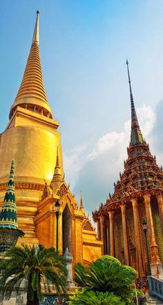 Famoso templo de Bangkok