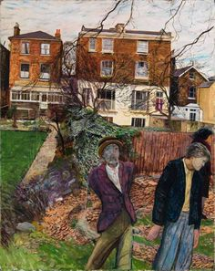 The World We Live In by Carel Victor Morlais Weight Date painted: Oil on board, x cm Garden Studio, New York Art, Royal College Of Art, Your Paintings, Classic Paintings, Portrait Paintings, Portraits, Art Uk, Urban Life