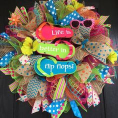 how to make a heart shaped mesh wreath - Google Search