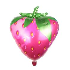 Balloons   20 inch Fruit Balloon Strawberry Balloon by Drawcord18