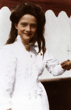 Grand Duchess Tatiana Nikolaevna (1897 – 1918) of Russia, daughter of Emperor Nicholas II.