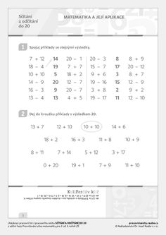 1, Math Equations, Learning, Studying, Teaching, Onderwijs