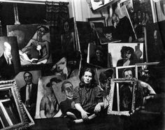 "Alice Neel (1900-1984) ""A true Greenwich Village bohemian …[who] made an extraordinary body of work, from the 1920s into the 1980s..."""