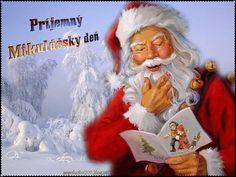 Mikuláš-obrázky   Obrázky pre radosť Ronald Mcdonald, Santa, Fictional Characters, Fantasy Characters
