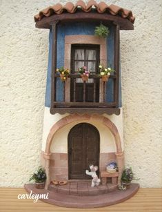 1 million+ Stunning Free Images to Use Anywhere Clay Fairy House, Fairy Garden Houses, Book Furniture, Box Frame Art, Doll House Crafts, Clay Fairies, Roof Tiles, Miniature Houses, Little Houses