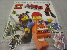 STICKERS THE LEGO MOVIE ULTIMATE STICKER COLLECTION LOTS OF LEGO MOVIE STICKERS