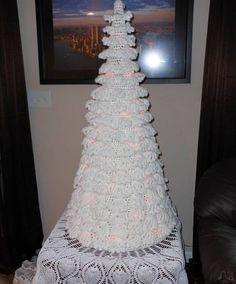 albero di Natale del crochet