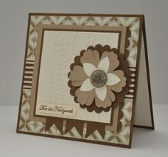 For the Newlyweds - Stampin Up