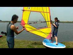 ▶ 5分で乗れる ウインドサーフィン スクール - YouTube