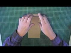 Multi purpose folder for Midori style traveler's notebook - part 1 - YouTube