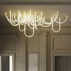 Les Cordes chandelier by Mathieu Lehanneur for Chateau Borely
