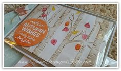 Simple cards for fall feat. woodlands embossing folder, among the trees, acorny thank you, seasonal snapshot 2015