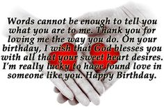 Quotes for Wishing Birthday to Boyfriend