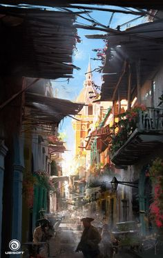 Assassin's Creed IV: Black Flag Concept art ★ Find more at http://www.pinterest.com/competing/