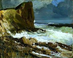 Gull Rock and Whitehead  George Wesley Bellows- 1911