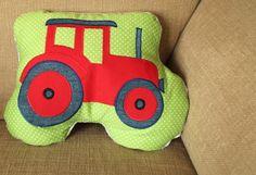 Traktor Kuschel-Kissen