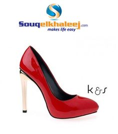 K & S #DESIGNER_LADIES_SHOES SP14-EH02 is offered by Souqelkhaleej.com at reasonable rates. Shop and Save @ http://www.souqelkhaleej.com/k-s-designer-ladies-shoes-sp14-bf02-9989.html