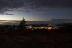 Fitjar by Night Iceland, Denmark, Norway, November, Celestial, Explore, Sunset, Night, Outdoor