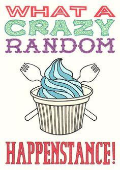 crazy random happenstance - Doctor Horrible tribute print (BettyTurbo, Etsy)