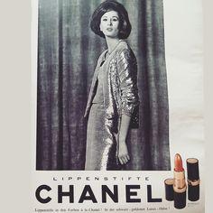 Chanel 60s lipstick advert