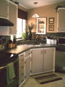 Image result for Small Kitchen Makeovers DIY
