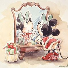 Walt Disney- Minnie Mouse drawing (K)