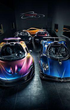 8e2a4318 Mc Laren P1, Pagani Zonda, Bugatti Veyron and Porsche Carrera GT Expensive  Cars,