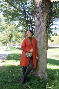 LadyofStyle Herbstmantel Wintermantel Orange Madeleine 50plus Blogger Stella Dot, Color, Madeleine, Personal Style, Colour, Colors
