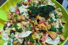 Kuřecí salát bez majonézy s medově hořčicovým dresinkem | NejRecept.cz Potato Salad, Potatoes, Ethnic Recipes, Food, Potato, Essen, Meals, Yemek, Eten