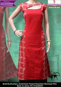 Salwar Neck Designs, Kurta Neck Design, Dress Neck Designs, Kurta Designs Women, Simple Kurta Designs, Kids Blouse Designs, Kurti Sleeves Design, Sleeves Designs For Dresses, Kurtha Designs