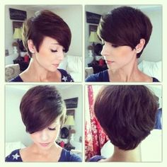 locks of love pixie cut - Google Search