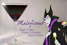 Cocktails van Disney figuren