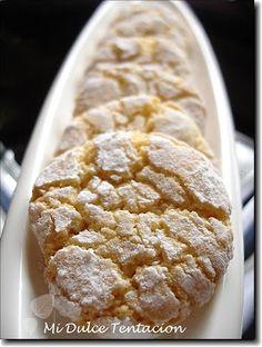Galletas Marroquies de almendra Mexican Food Recipes, Sweet Recipes, Cookie Recipes, Dessert Recipes, Biscuit Cookies, Cupcake Cookies, Cupcakes, Pan Dulce, Coconut Cookies