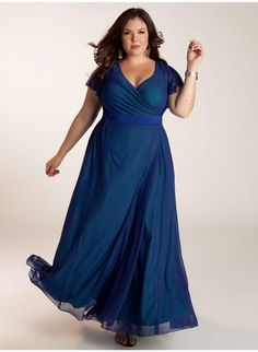 I wish this was still available in my size. I'd wear this to the Tony awards. Letta Dress in Blue. IGIGI by Yuliya Raquel. www.igigi.com