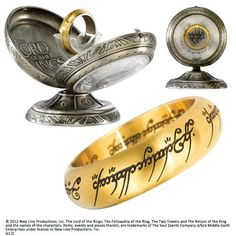 One Ring Stainless Steel- Gold US Sizes 6 - 14 | Buy Online | World Supermarket
